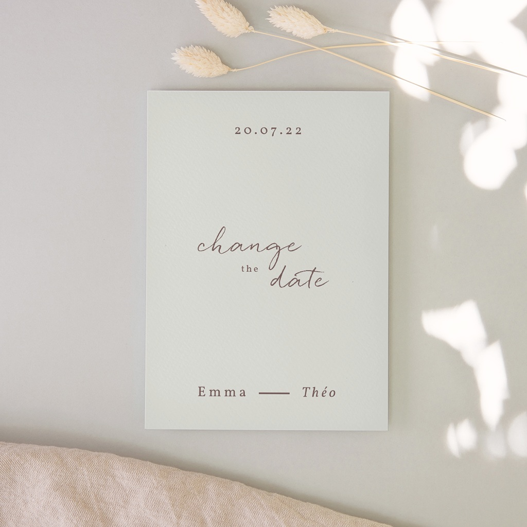 Change the date mariage Silhouette de Lys, New Day
