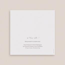 Faire-part de mariage Couronne de Fleurs d'Oranger gratuit