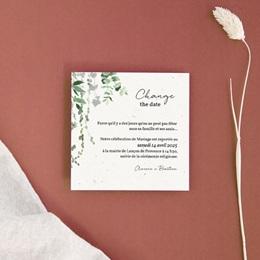 Change the date mariage Nature Végétale, Nouvelle date