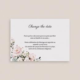 Change the date mariage Champêtre Romantique, Nouvelle Date gratuit