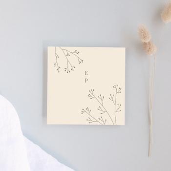 Carton réponse mariage Brins de Provence, Rsvp 10 x 10