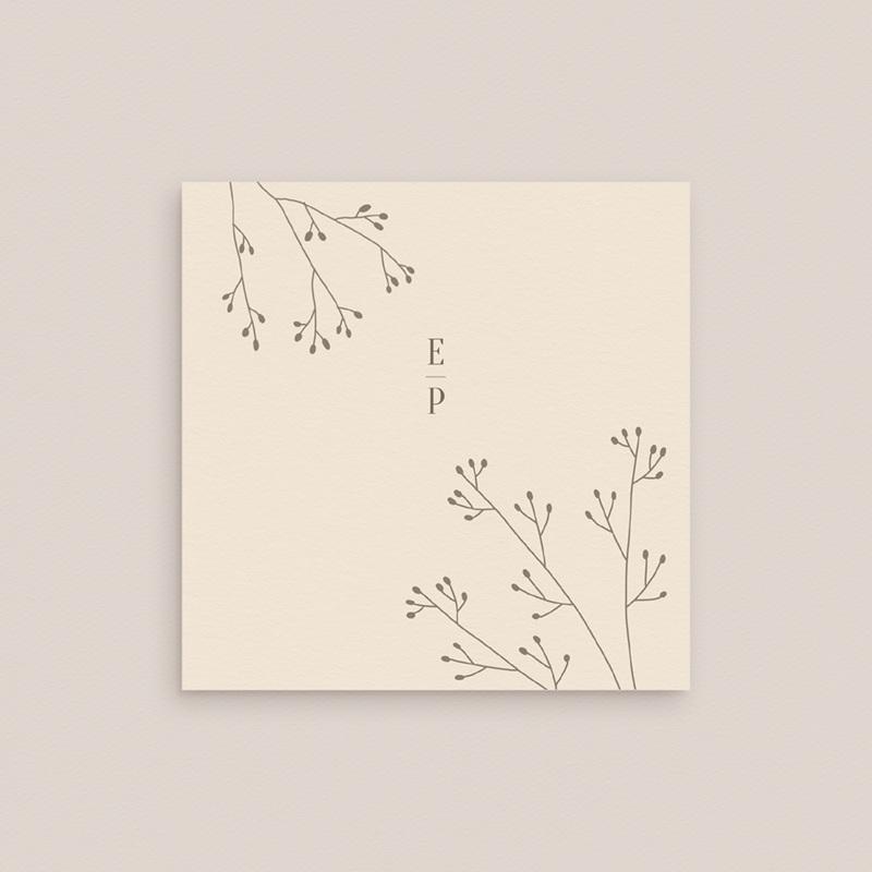 Carton réponse mariage Brins de Provence, Rsvp 10 x 10 gratuit