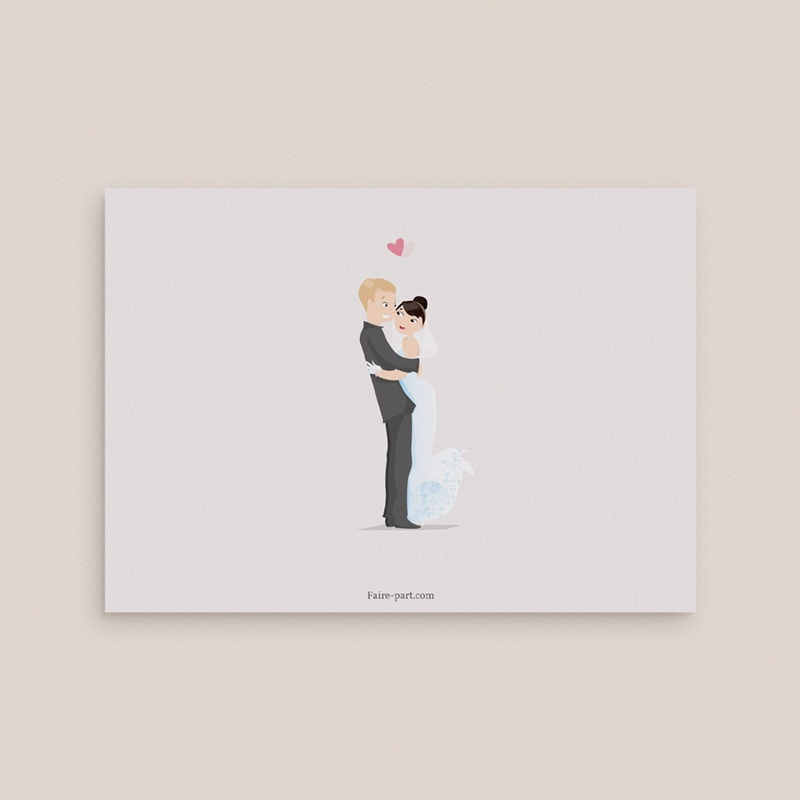 Carton réponse mariage Youpi, votre réponse ! pas cher