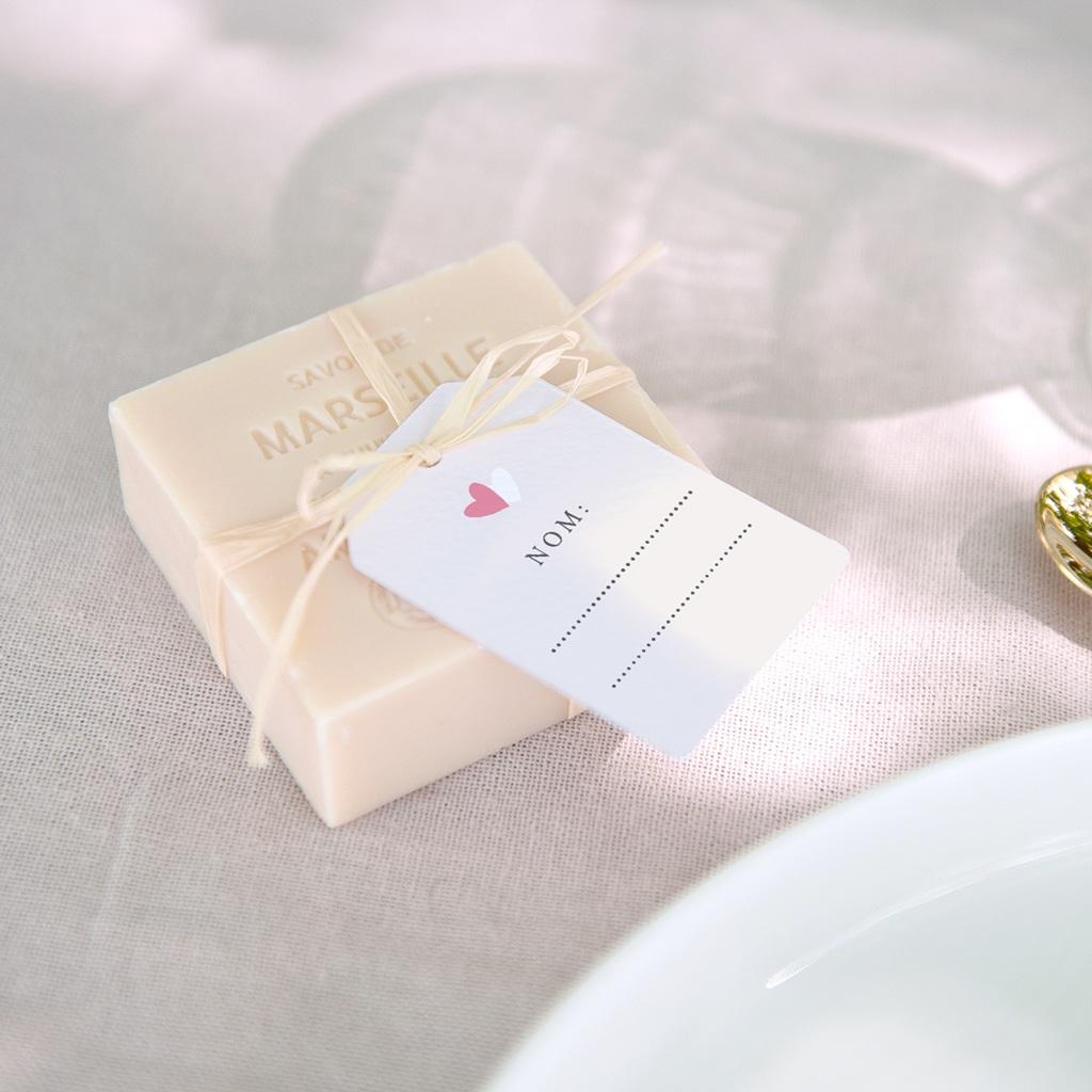 Marque-place mariage Youpi, un invité placé