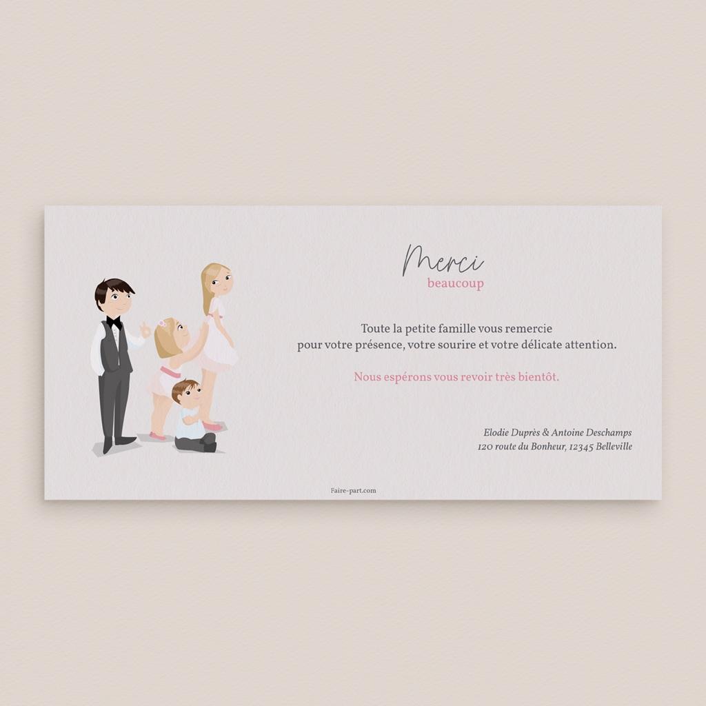 Carte de remerciement mariage Youpi, 3 photos pas cher
