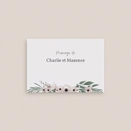 Marque-place mariage Champêtre, Porte-nom 7,5 x 5,2 cm gratuit