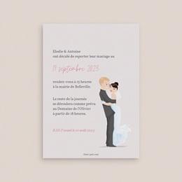 Change the date mariage Youpi 1 fille 1 garçon, nouvelle date pas cher