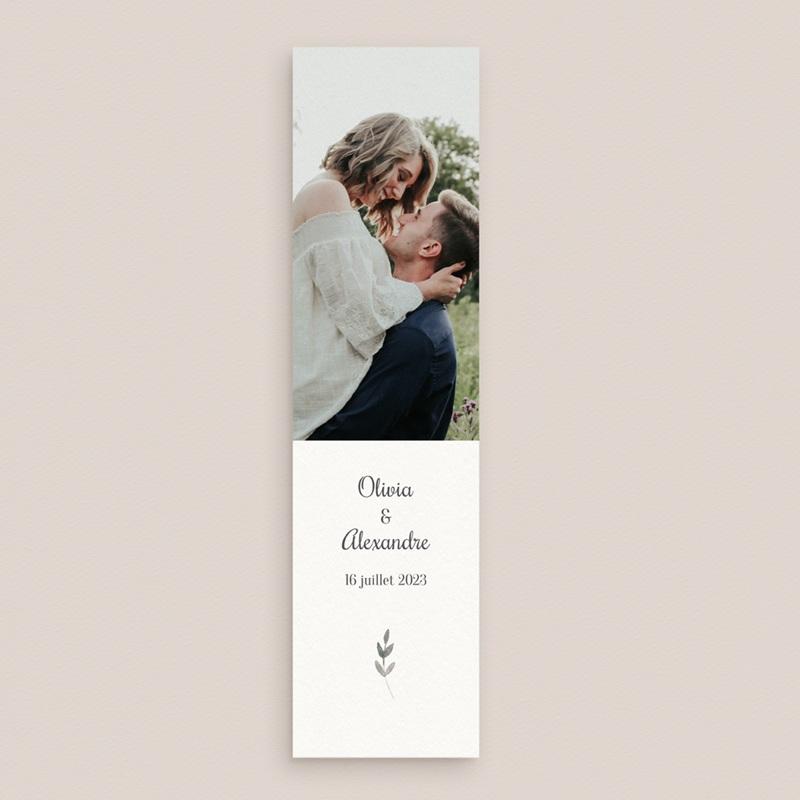 Save-the-date mariage Couronne Olivier Naturel, Jour J gratuit