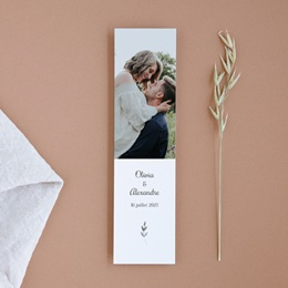 Save-the-date mariage Couronne Olivier Naturel, Jour J