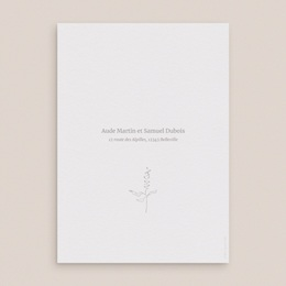 Faire-part de mariage Kinfolk, Grand Format, 15 x 21 cm pas cher
