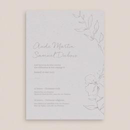 Faire-part de mariage Kinfolk, Grand Format, 15 x 21 cm gratuit