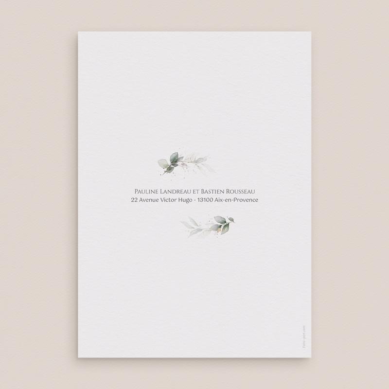 Faire-part de mariage Provence Champêtre, 15 x 21 cm pas cher