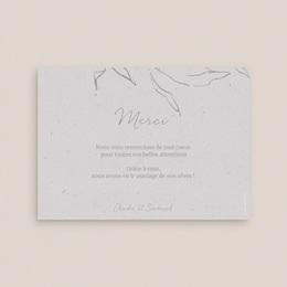 Carte de remerciement mariage Kinfolk, Portrait des mariés pas cher