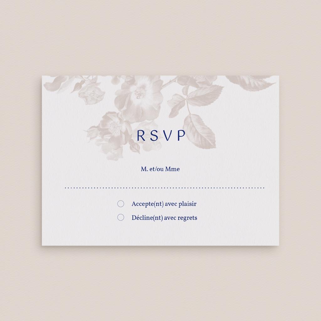 Carton réponse mariage Rhapsody, Rsvp gratuit