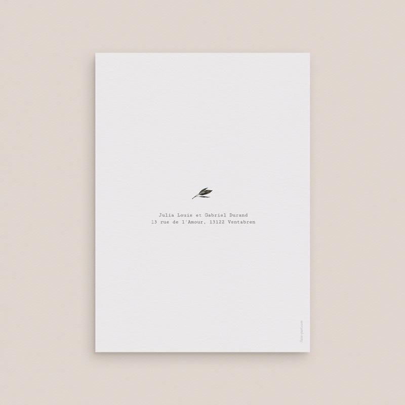 Faire-part de mariage Arche de fleurs pourpres, 12 x 16,7 cm pas cher