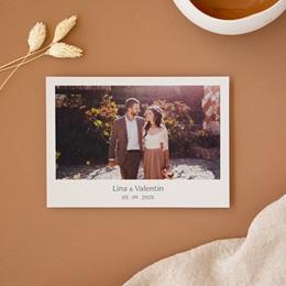 Carte de remerciement Matcha, Photo, 14 x 10