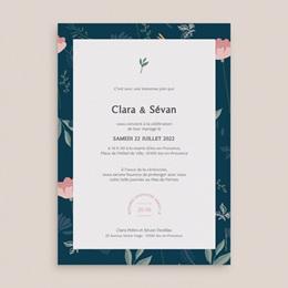 Faire-part de mariage Chabada Floral, 15 x 21 cm pas cher