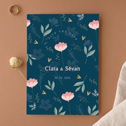 Faire-part de mariage Chabada Floral, 15 x 21 cm