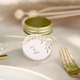 Etiquettes cadeaux mariage Rameaux d'Olivier, Souvenir