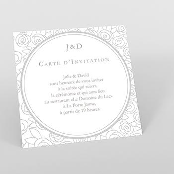 Carte d'invitation mariage Vendôme