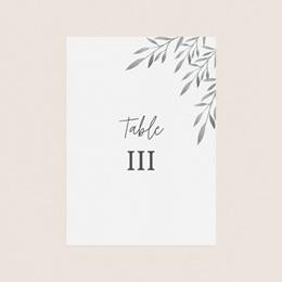 Marque table mariage Rameaux d'Olivier, Lot de 3 pas cher