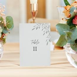 Marque table mariage Rameaux d'Olivier, Lot de 3 gratuit