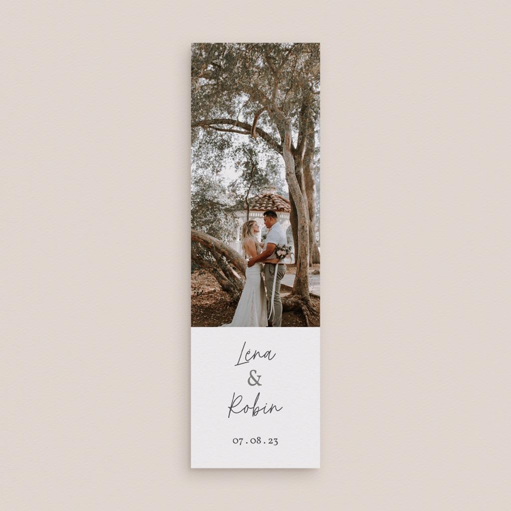 Carte de remerciement mariage Rameaux d'Olivier, 2 en 1 gratuit