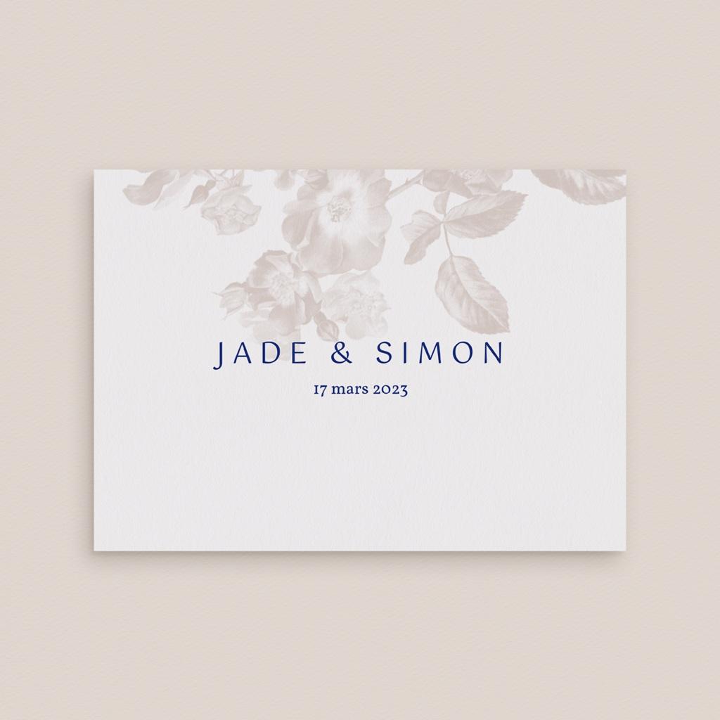 Carte d'invitation mariage Rhapsody, Dîner gratuit