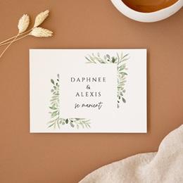 Change the date mariage Feuilles Nature Champêtre, date nouvelle
