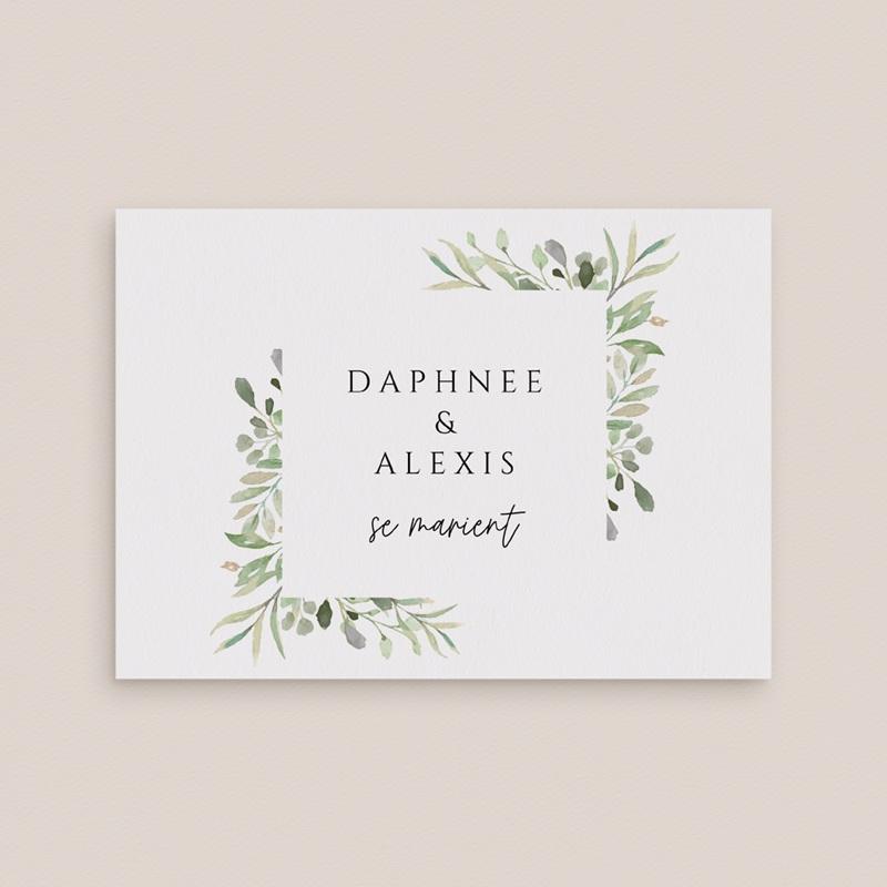 Change the date mariage Feuilles Nature Champêtre, date nouvelle gratuit