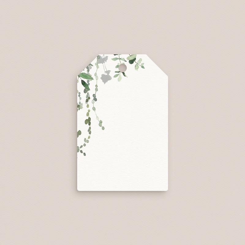 Marque-place mariage Nature végétale, invité placé gratuit