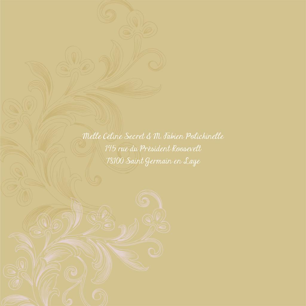 Faire-part de mariage Eternité  gratuit