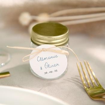 Etiquettes cadeaux mariage Épousailles en famille, Cadeau souvenir