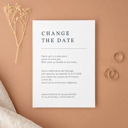 Change the date mariage Les Noces d'une Tribu, nouvelle date