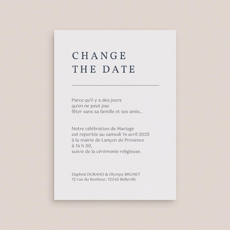 Change the date mariage Les Noces d'une Tribu, nouvelle date gratuit