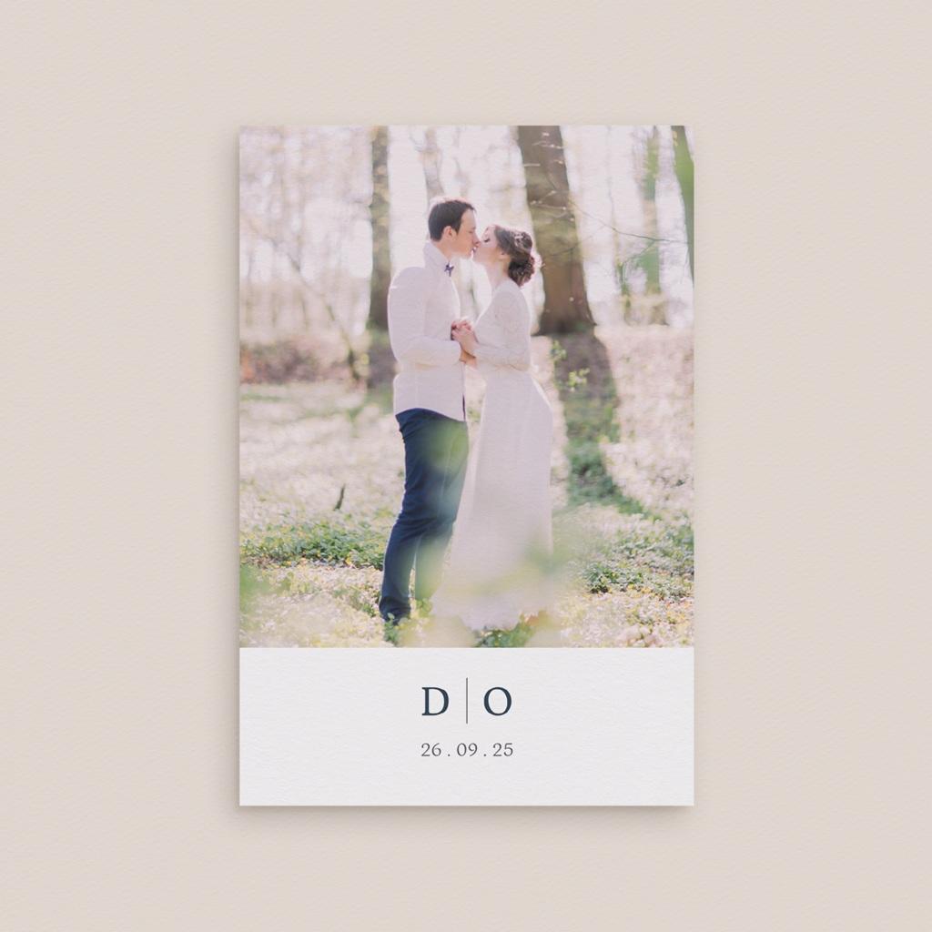 Carte de remerciement mariage Les Noces d'une Tribu, Portrait