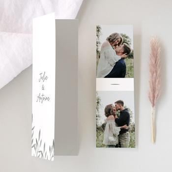 Faire-part de mariage avec photo