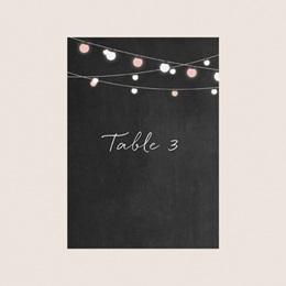 Marque table mariage Perfect Day Ardoise, Lot de 3 pas cher