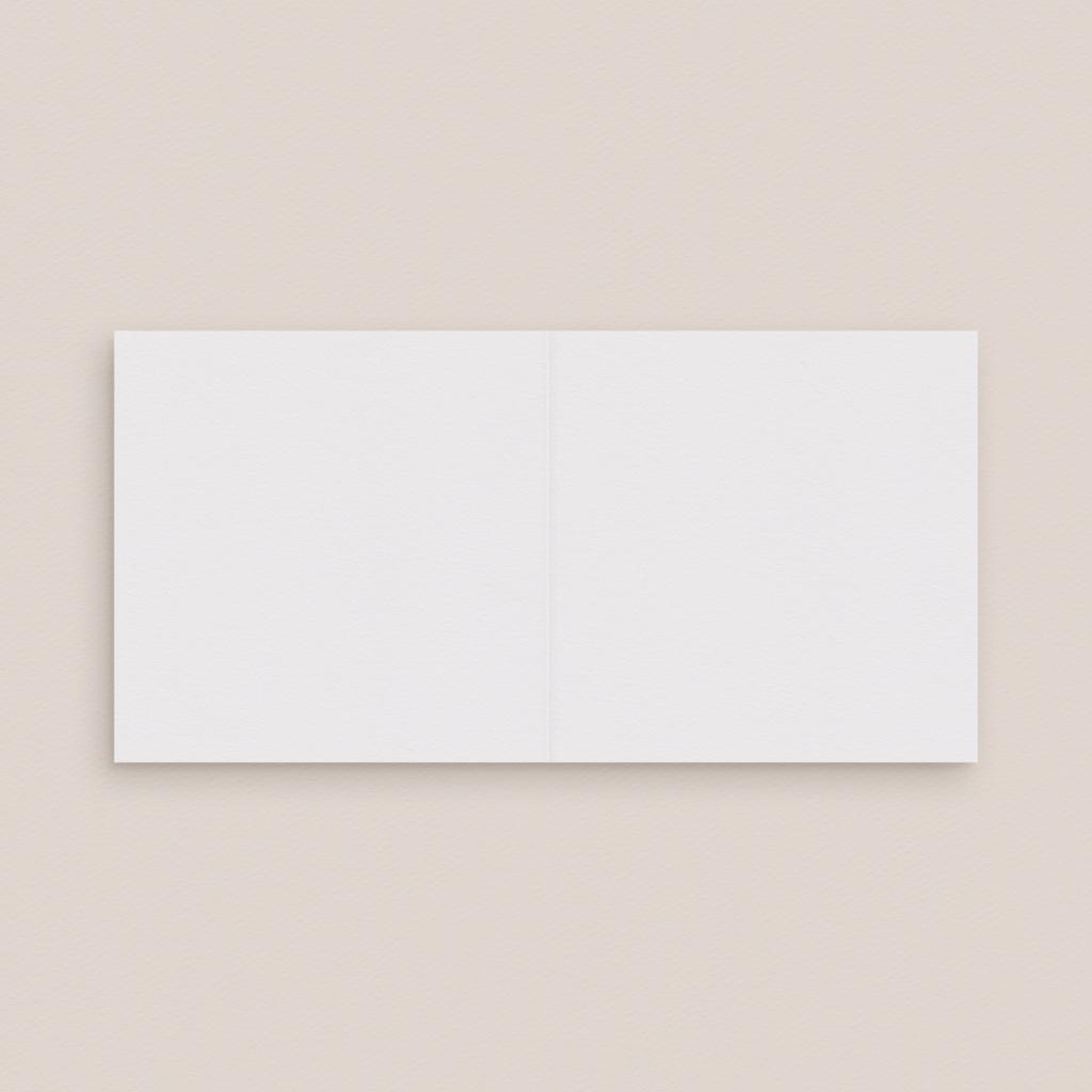 Carton réponse mariage Libre Création, Double Volet, 9,5 x 9,5 cm pas cher