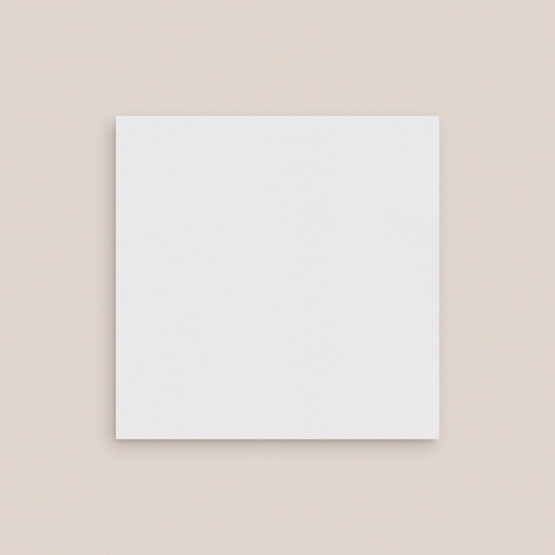 Carton réponse mariage Libre Création, Double Volet, 9,5 x 9,5 cm gratuit