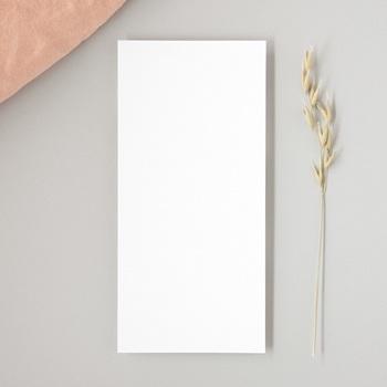 Faire-part de mariage Libre Création Mariage, rectangle Vertical, 10 x 21 cm