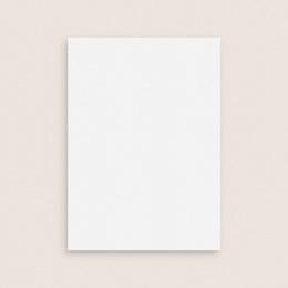 Faire-part de mariage Libre Création Mariage, Recto verso, 12 x 16,7 cm