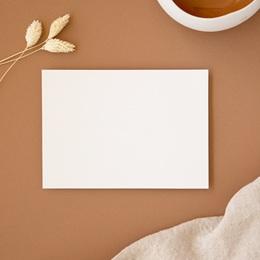 Carte d'invitation mariage Libre Création, Recto verso 14 x 11 cm