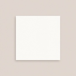 Carte d'invitation mariage Libre Création, Carré simple 10 x 10 cm pas cher