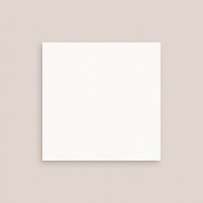 Carte d'invitation mariage Libre Création, Carré simple 10 x 10 cm gratuit