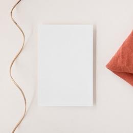 Carte d'invitation mariage Libre Création, volet simple 10 x 15 cm