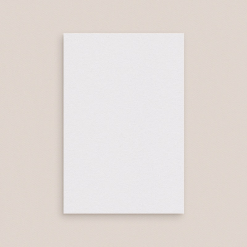 Carte d'invitation mariage Libre Création, volet simple 10 x 15 cm pas cher