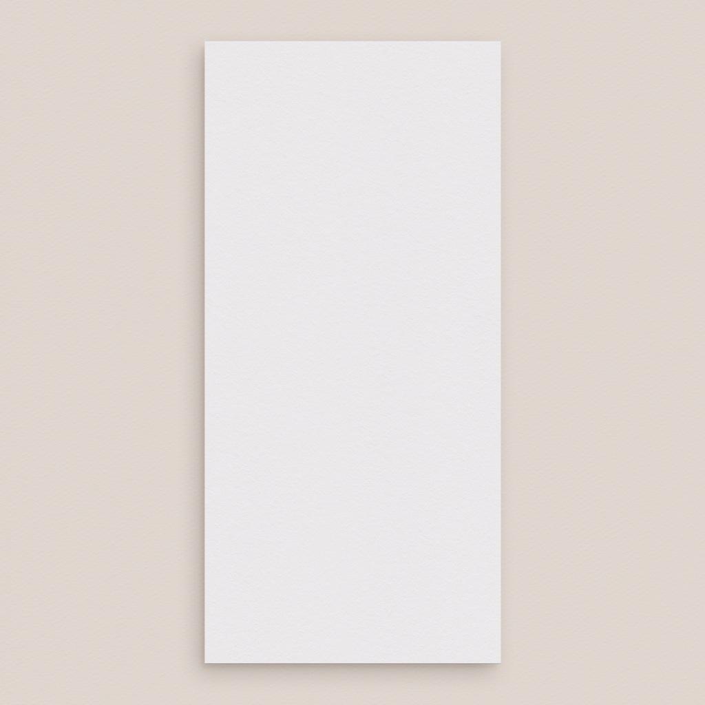 Menu mariage Libre Création Mariage, 10 x 21 cm pas cher