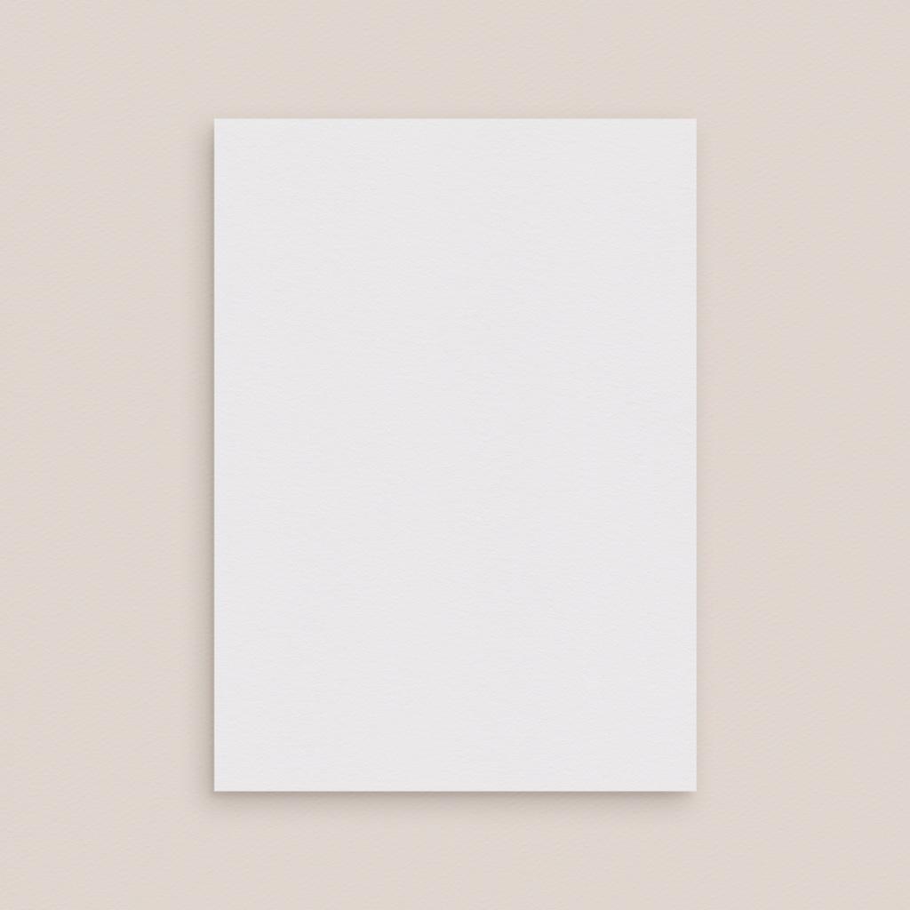 Carte de remerciement mariage Libre Création Mariage, Simple Volet, 12 x 16,7 cm pas cher