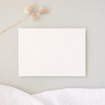 Carte de remerciement mariage Libre Création, simple 12 x 16,7 cm